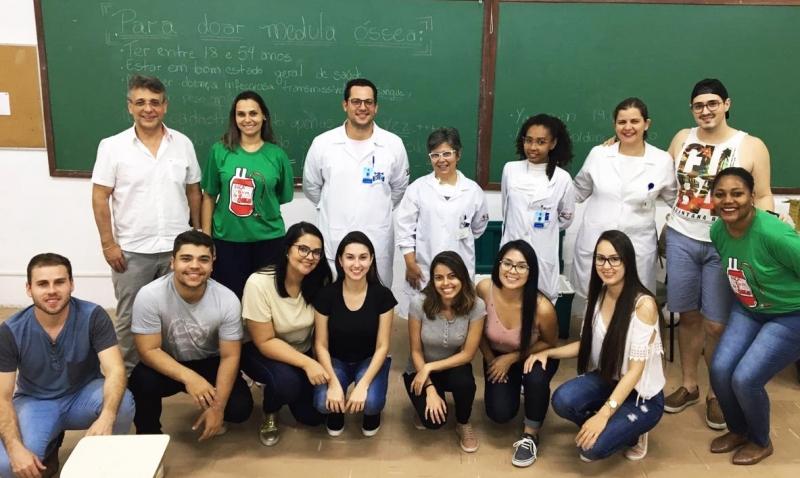 Ação do curso de Engenharia Civil da Unimar promove o cadastramento de doadores de medula óssea