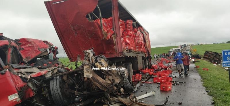 Caminhoneiro mariliense morre em grave acidente no Paraná