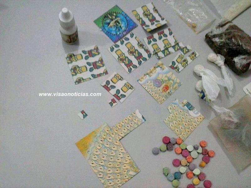 Rapaz condenado por entregar drogas sintéticas em festas é capturado